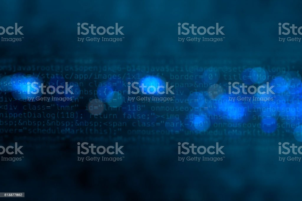 Digital technology background vector art illustration