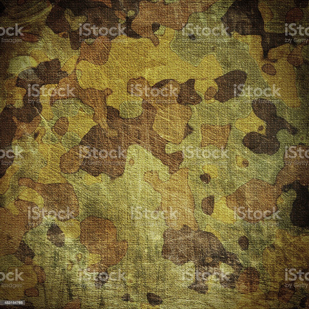 dingy camouflage vector art illustration