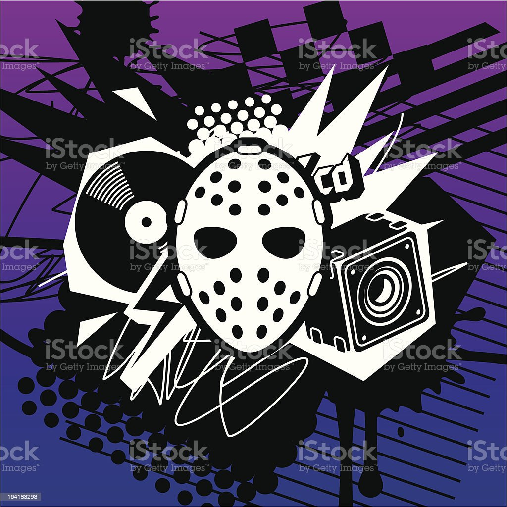 Dirty Beat royalty-free stock vector art