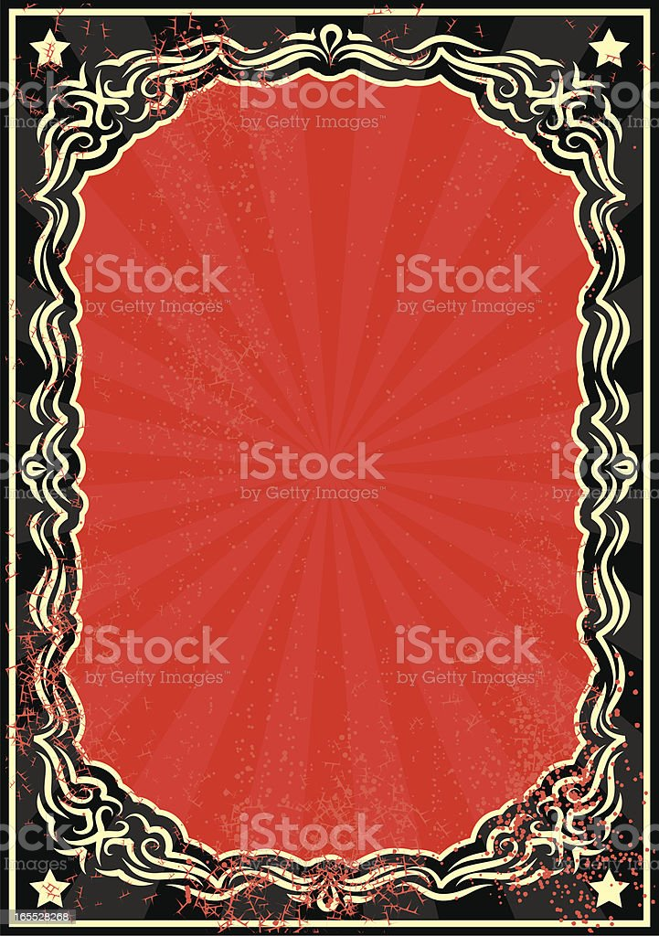 dirty poster royalty-free stock vector art
