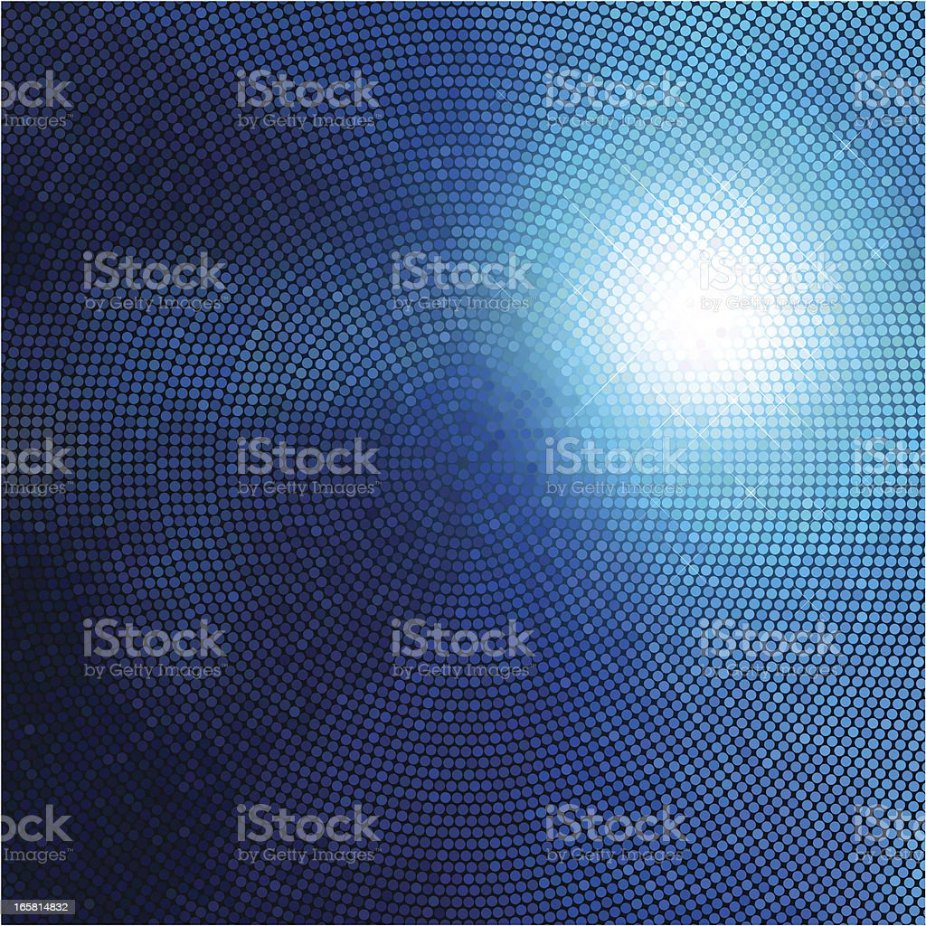 Disco Ball - abstract background vector art illustration