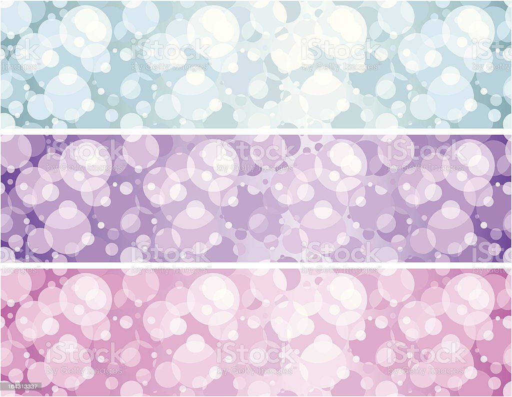 Disco banners set royalty-free stock vector art