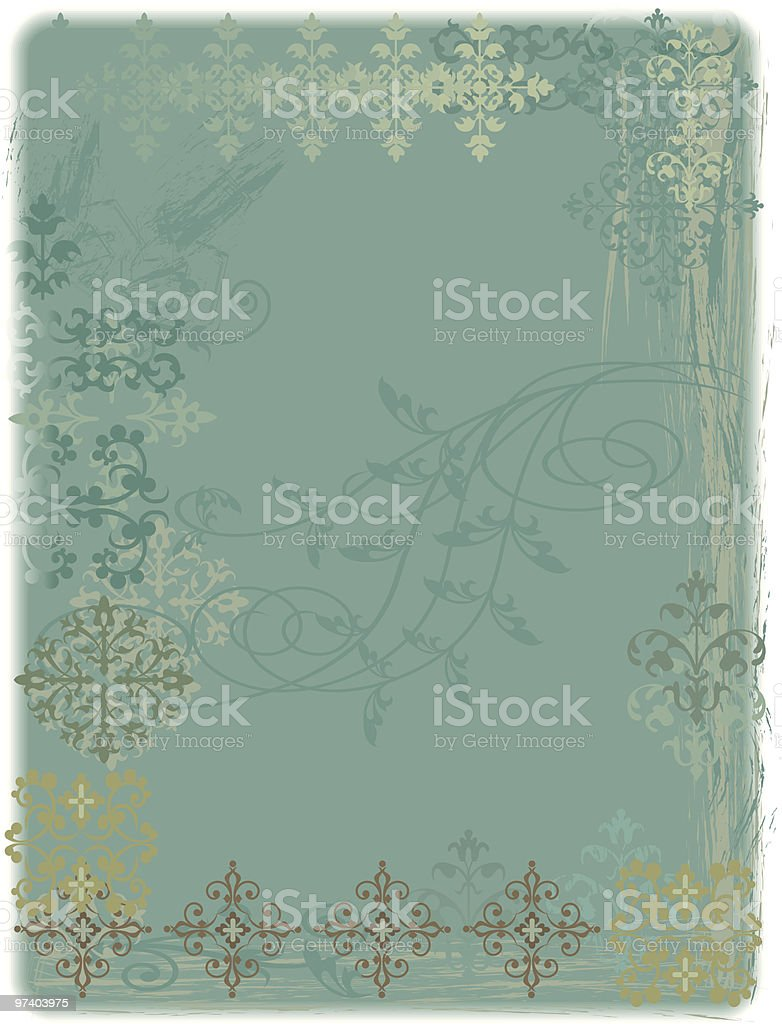Distressed shabby background royalty-free stock vector art