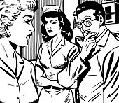 Doctor, Nurse and Woman