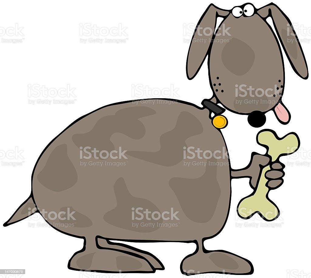 Doggy Treat vector art illustration