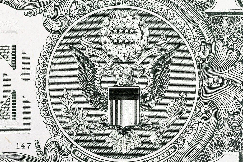 US Dollar Detail royalty-free stock vector art