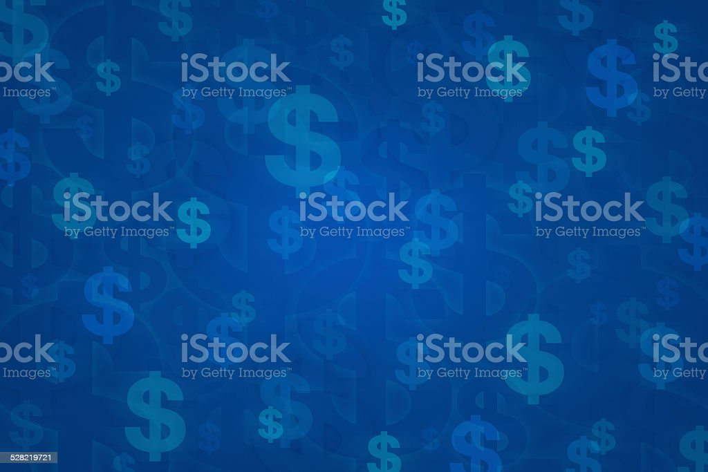 Dollar sign for background vector art illustration