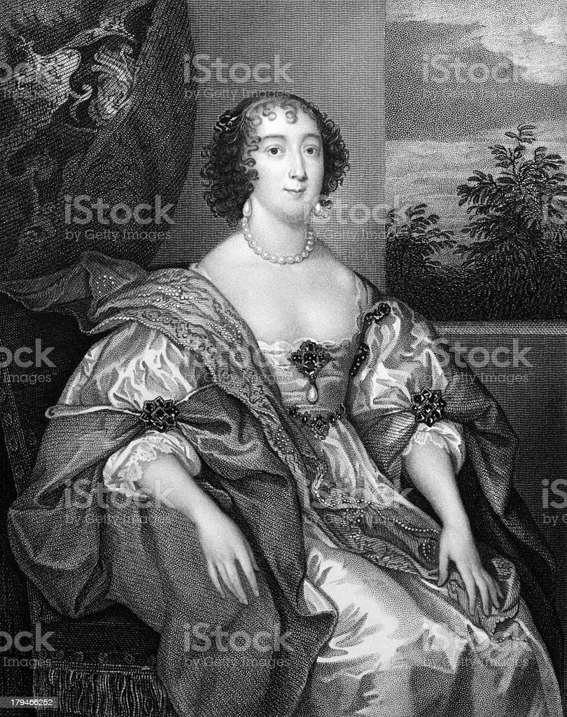 Dorothy Sidney, Countess of Leicester vector art illustration