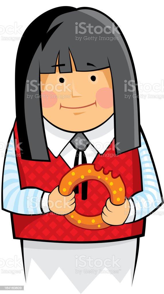 doughnut royalty-free stock vector art