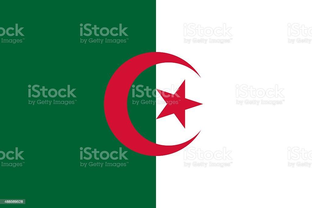 Drapeau algérien, Algérie, Drapeau, Symbole, Drapeau national, Icône d'ordinateur vector art illustration