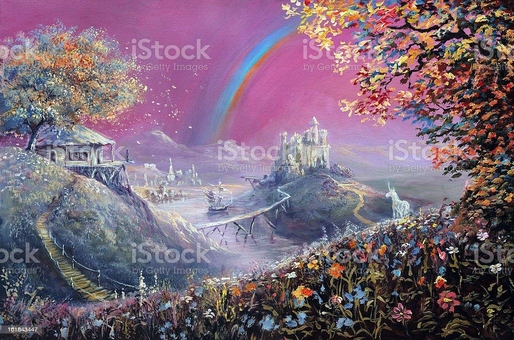 dreamland royalty-free stock vector art