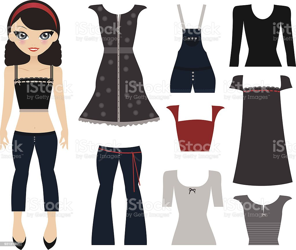 Dressing vector art illustration