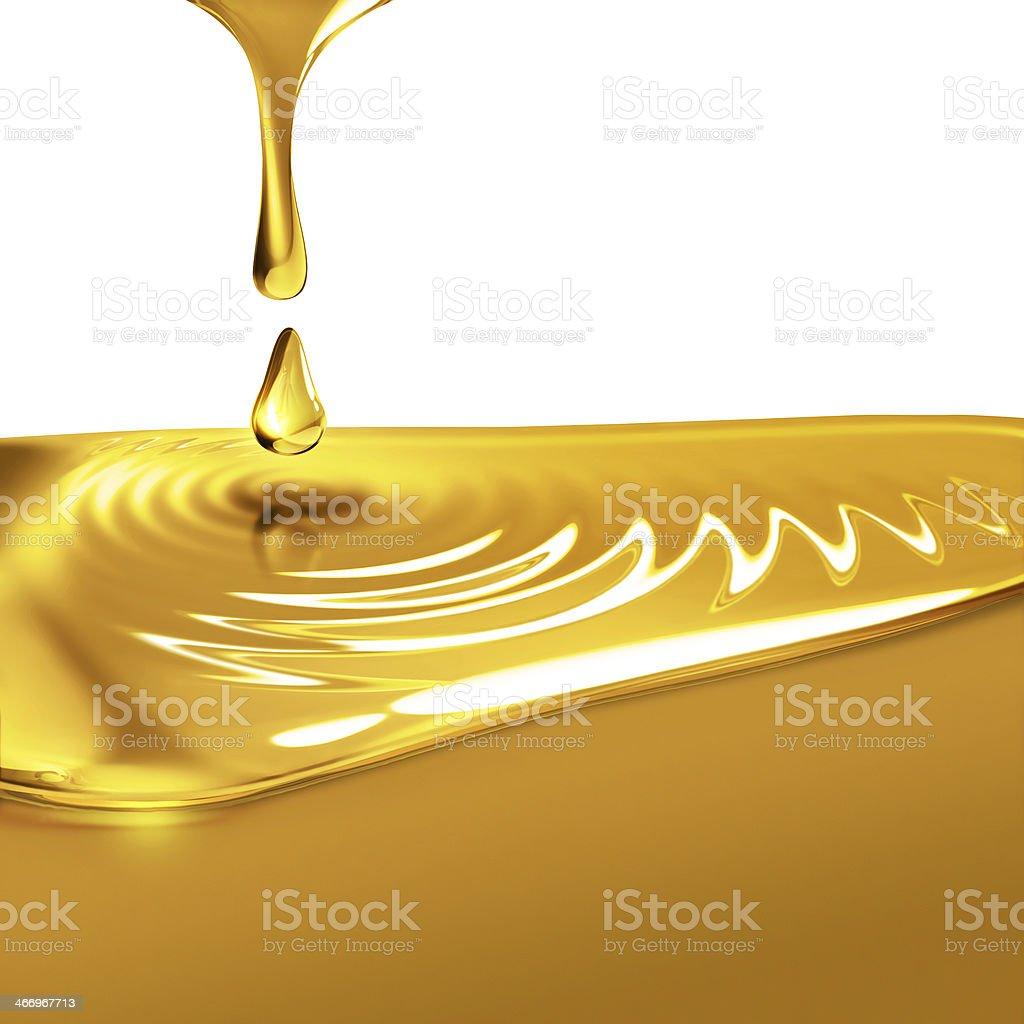 dripping oil vector art illustration