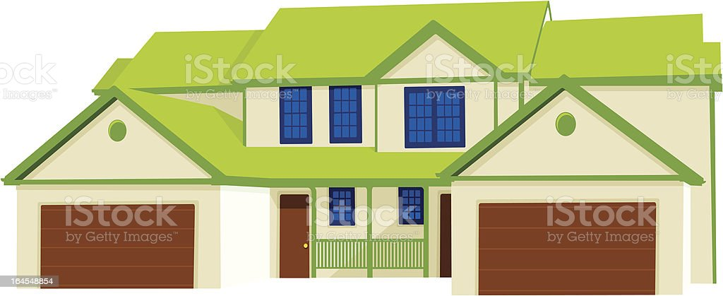 Duplex royalty-free stock vector art
