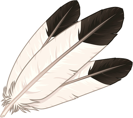 Eagle Feather Coloring Page
