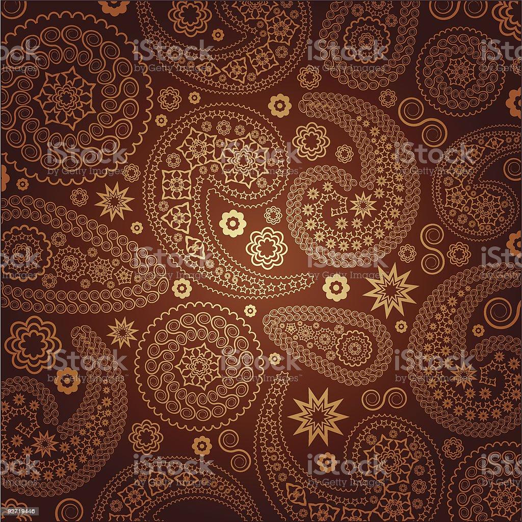 eastern pattern royalty-free stock vector art
