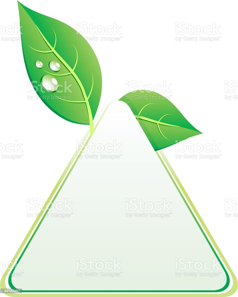 Eco background. royalty-free stock vector art