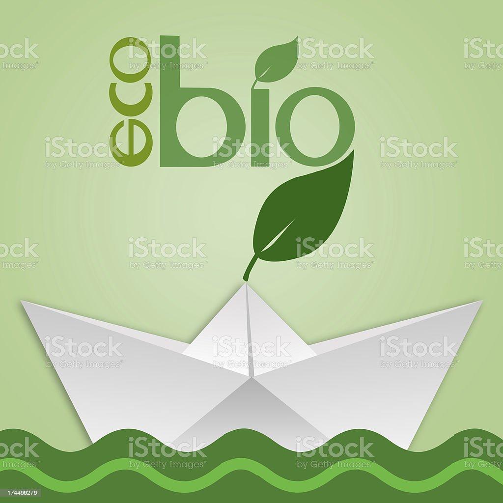 eco bio icon royalty-free stock vector art