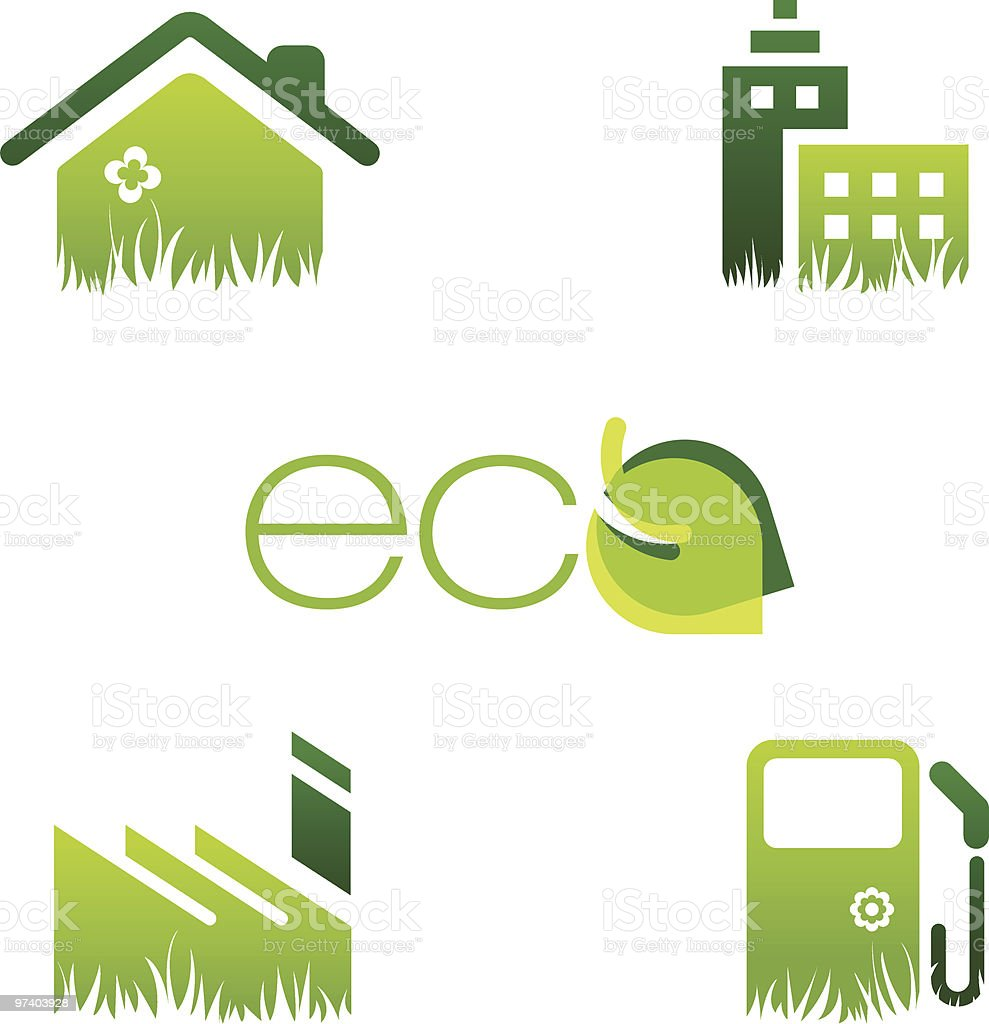 eco concepts royalty-free stock vector art