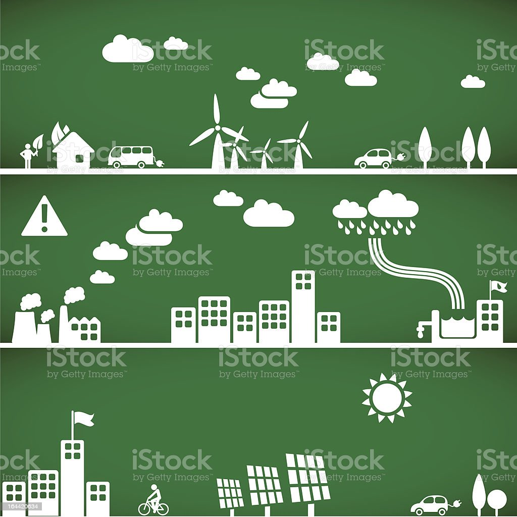 ecology backgrounds & elements royalty-free stock vector art