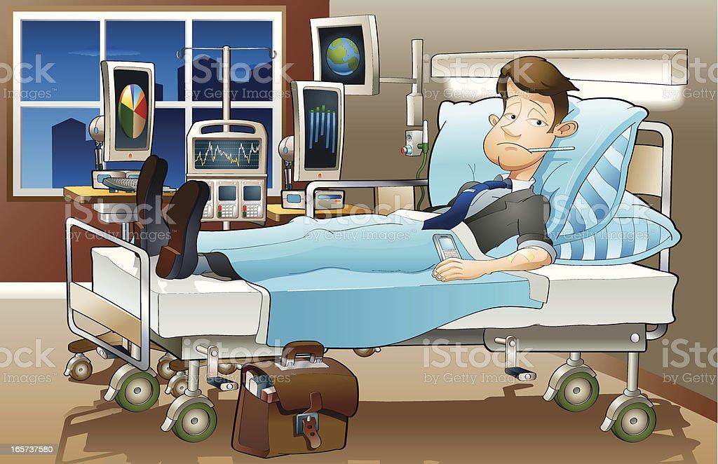 Economic depression vector art illustration