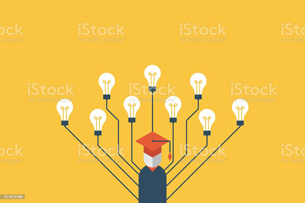 Education concept illustration vector art illustration