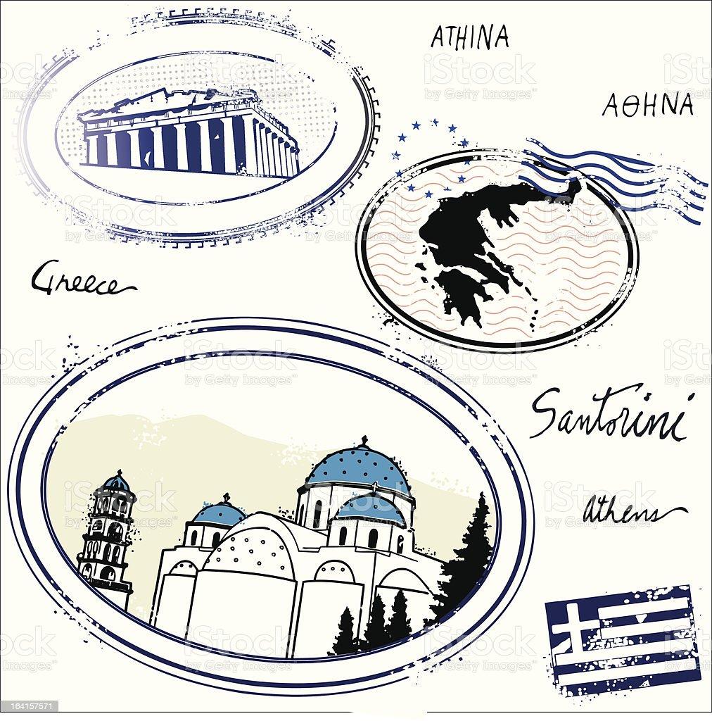 El Greccos royalty-free stock vector art