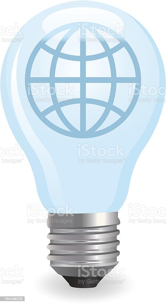 electric light bulb royalty-free stock vector art