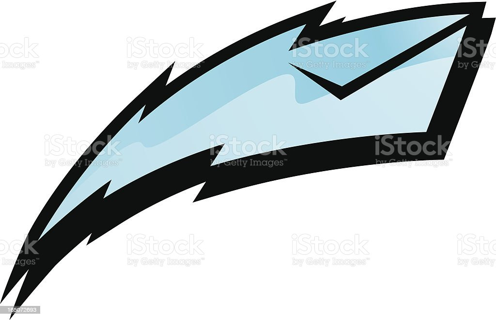 electro mail royalty-free stock vector art