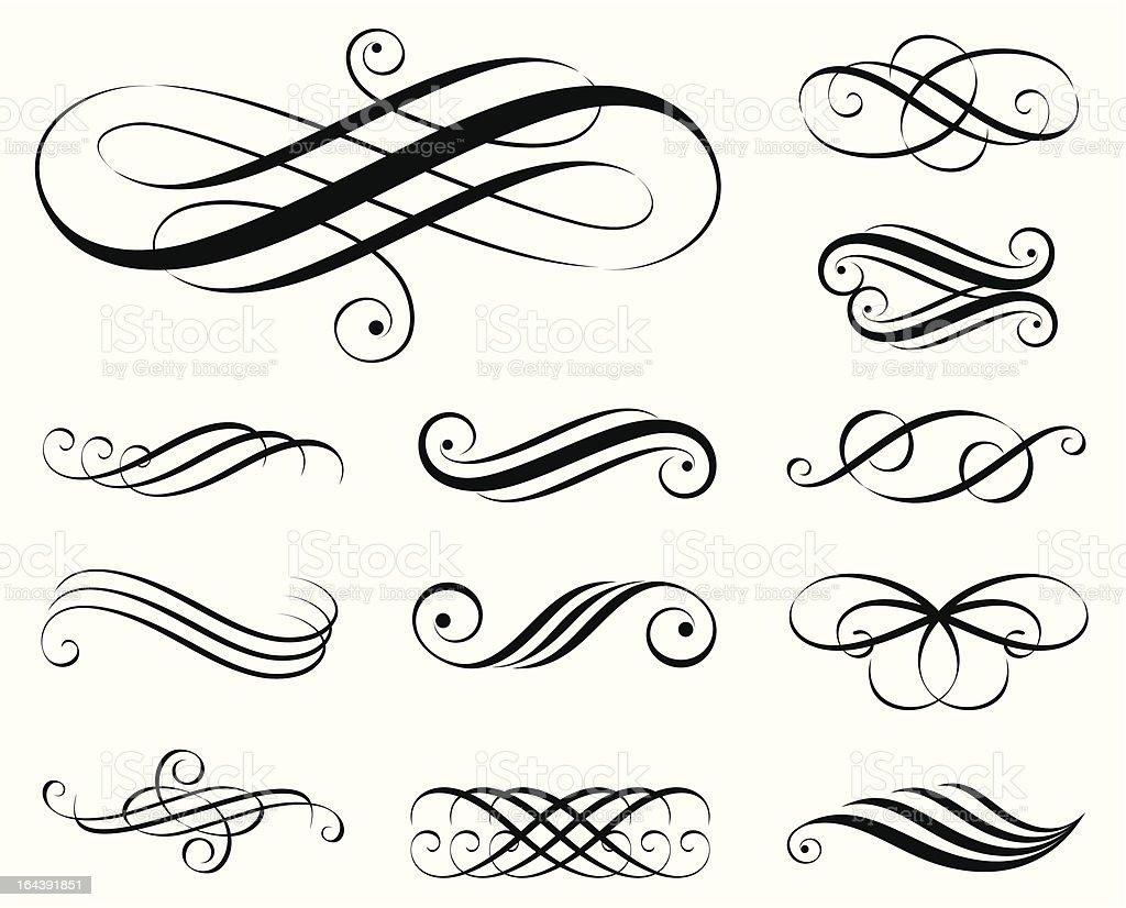 Elegant Elements royalty-free stock vector art