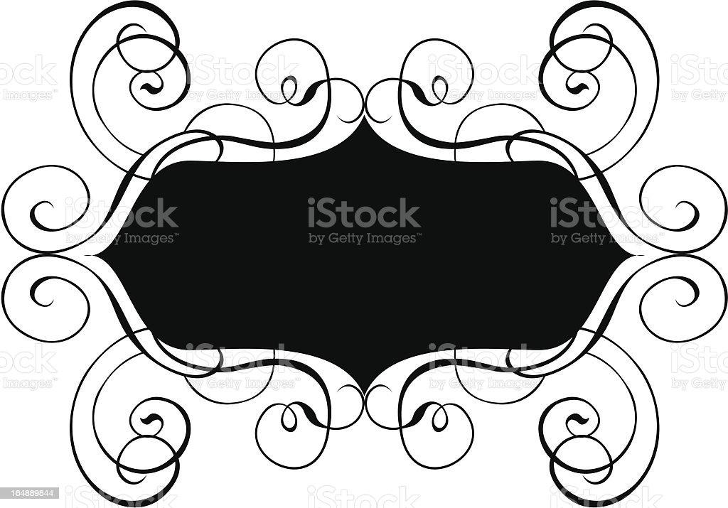 Element for design, vector vector art illustration