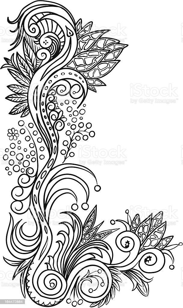 element pattern royalty-free stock vector art