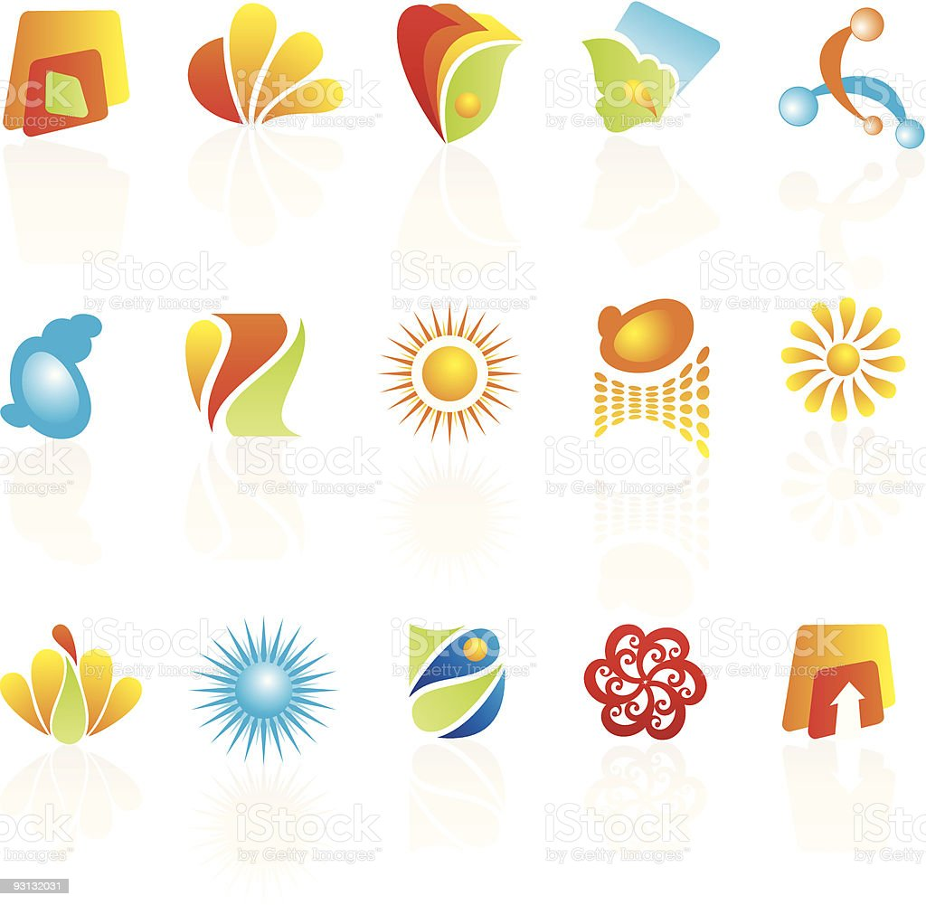 Elements for design royalty-free stock vector art