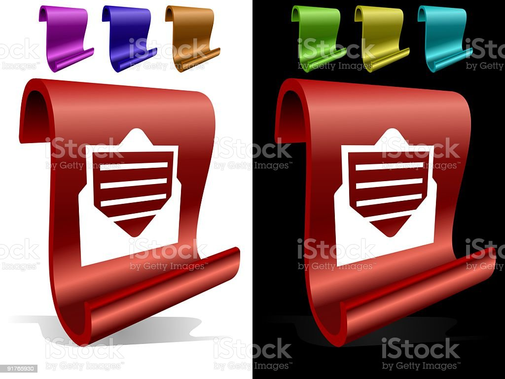 Email icon royalty-free stock vector art