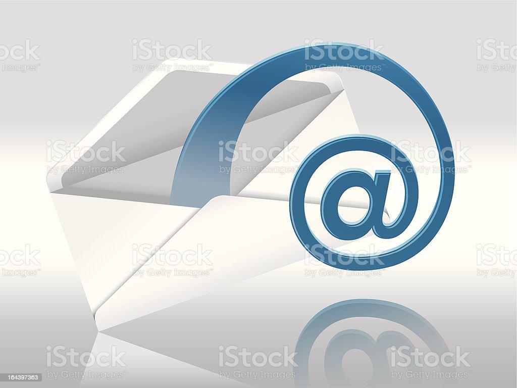 E-Mail vector art illustration