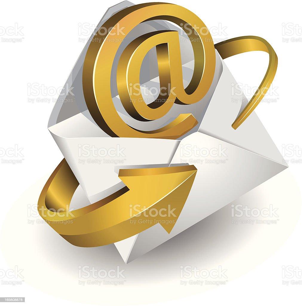 e-mail symbol royalty-free stock vector art