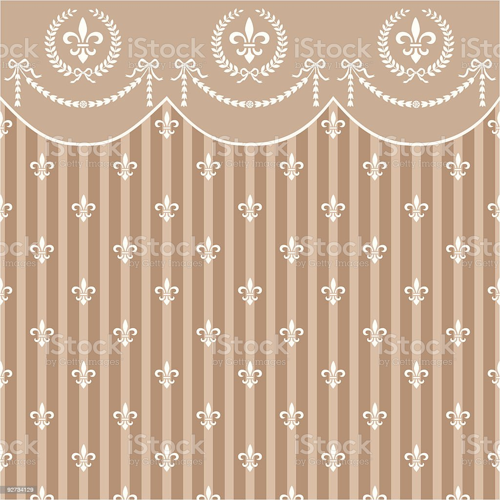 Empire background royalty-free stock vector art