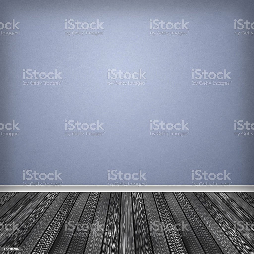 Empty room, interior with wallpaper royalty-free stock vector art
