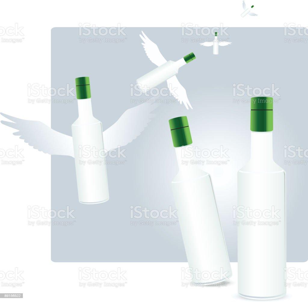 Energising drinks royalty-free stock vector art