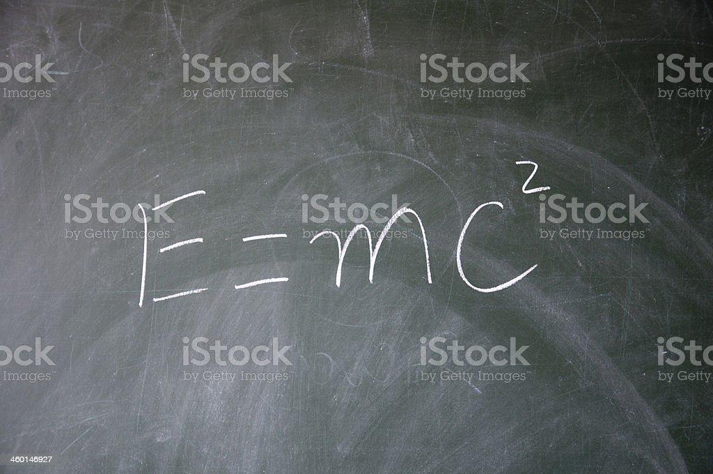 Energy equation vector art illustration