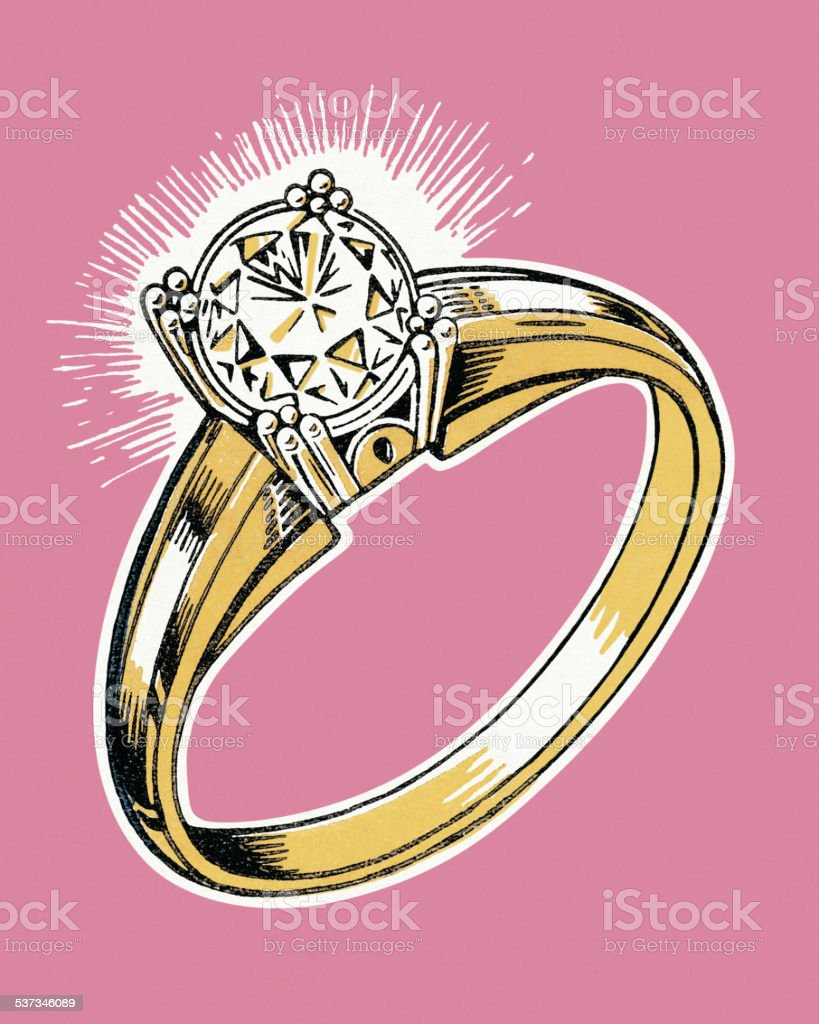 Engagement Rings Illustration Description And t