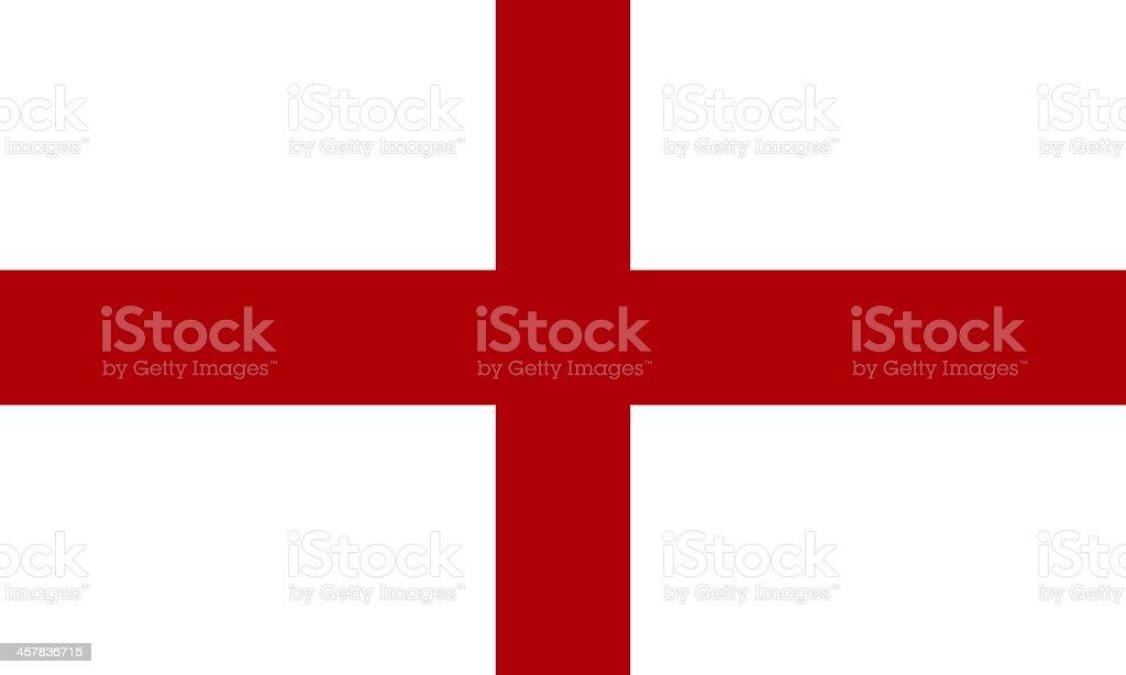 english flag vector art illustration