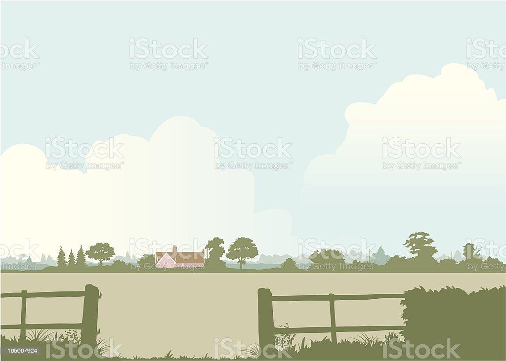 English landscape royalty-free stock vector art