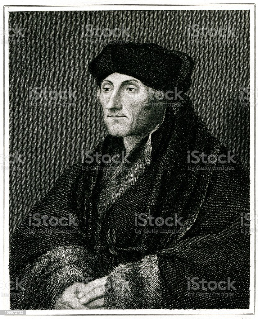 Erasmus royalty-free stock vector art