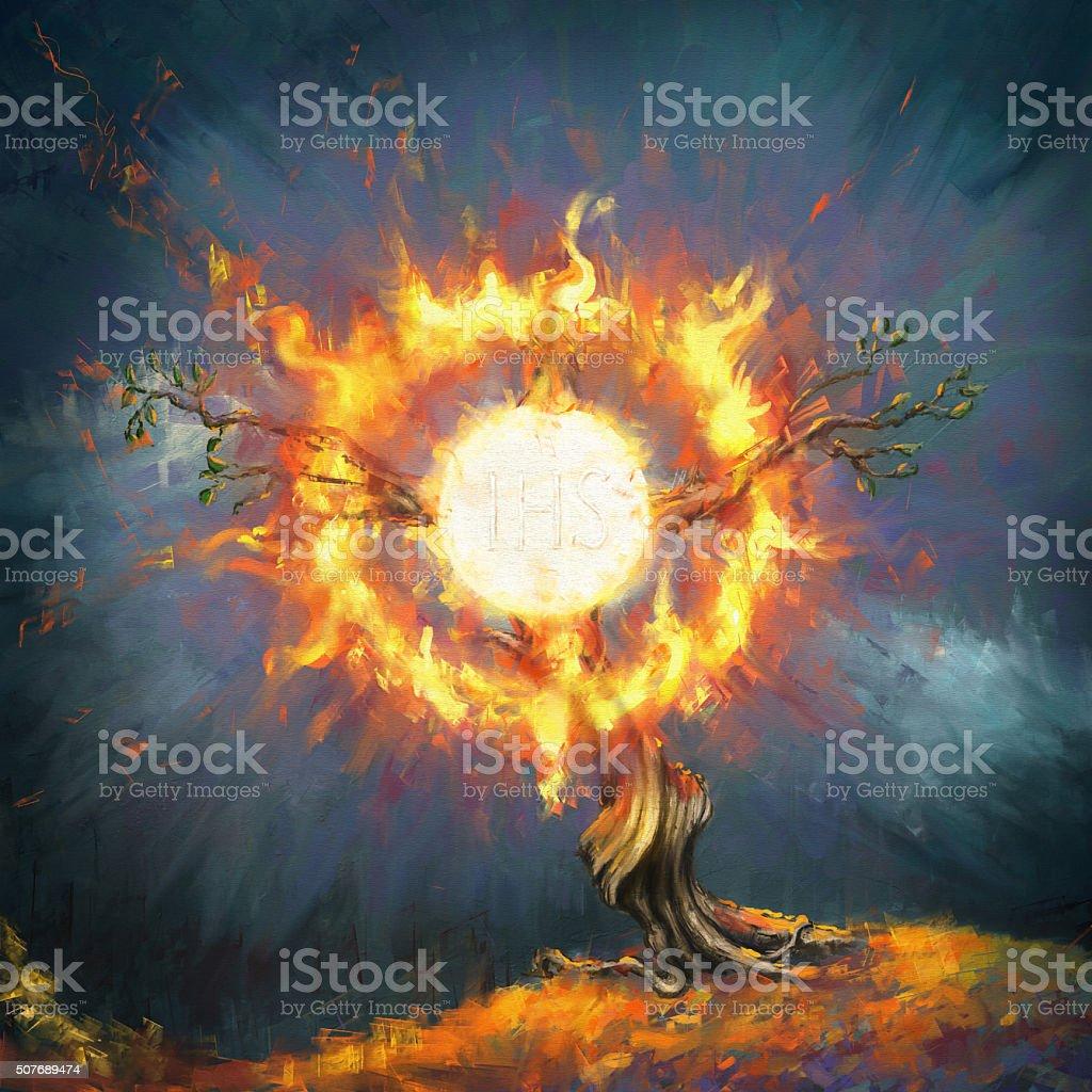 eucharist vector art illustration