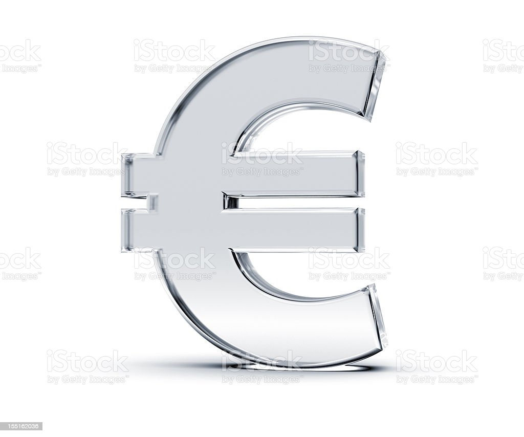 Euro Symbol vector art illustration