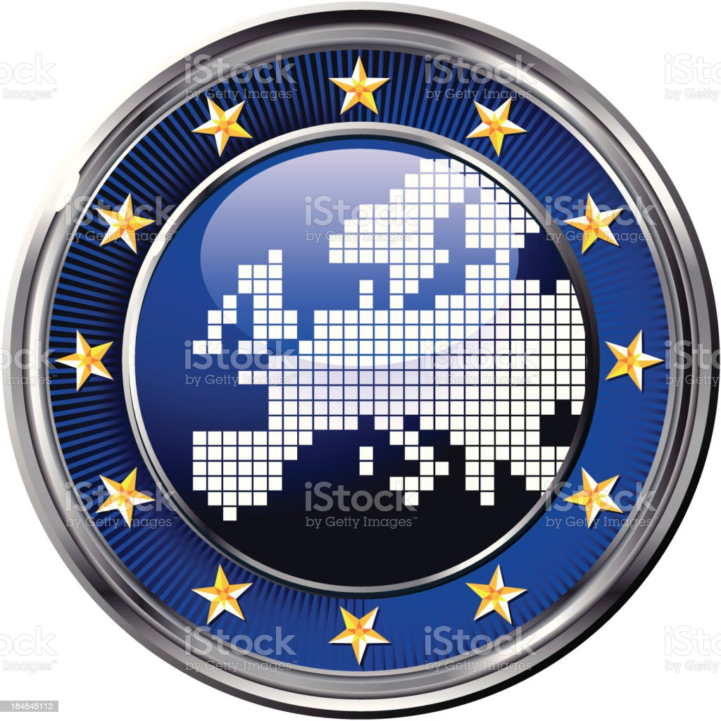 european union symbol royalty-free stock vector art