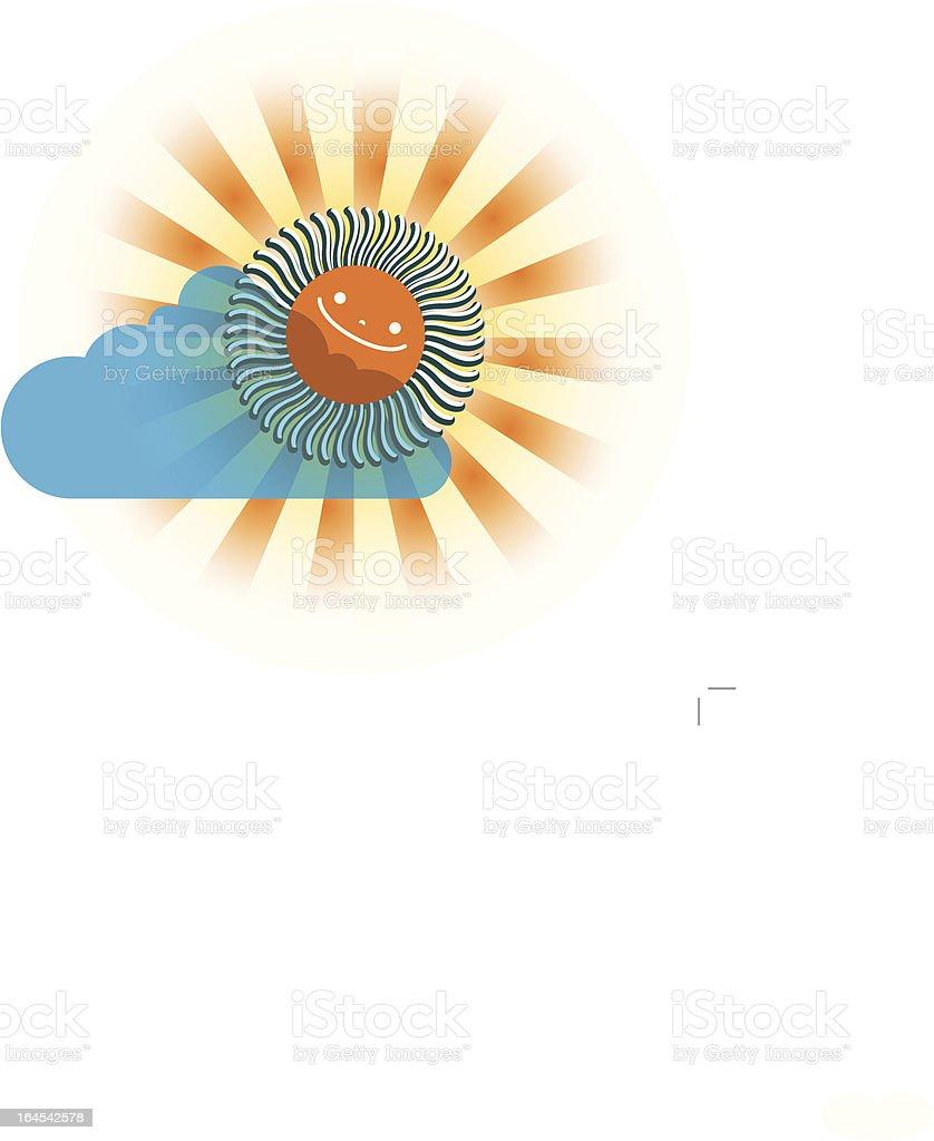 Ev'rybody Loves the Sunshine vector art illustration