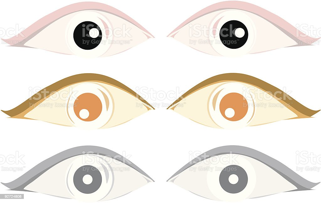 Eyes for Sale! royalty-free stock vector art