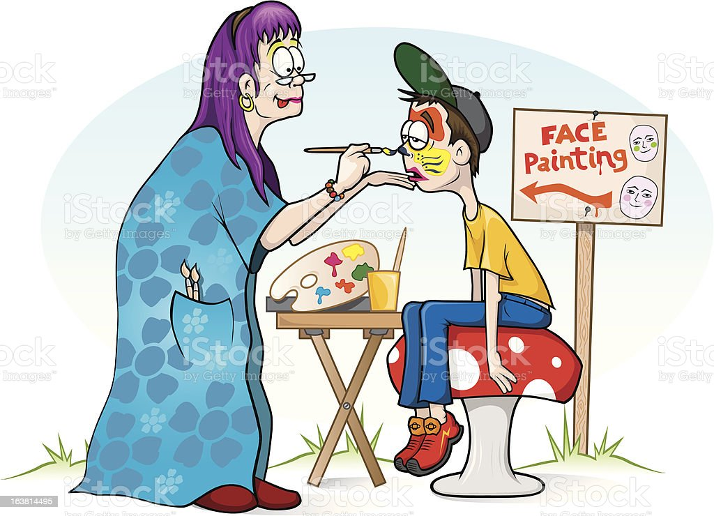Face Painting Photo Booth Images